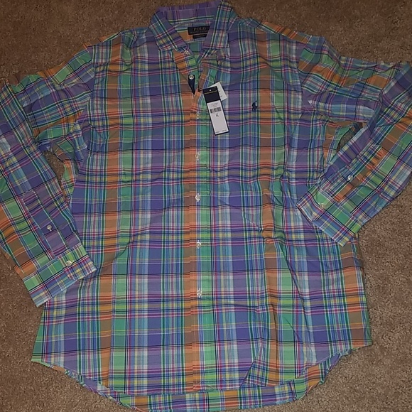 Polo by Ralph Lauren Other - NWT-Polo Ralph Lauren, XL, Plaid Button Down Shirt